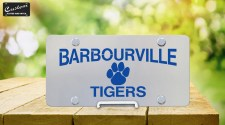 Custom License Plate - Barbourville Tiger